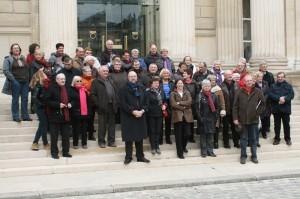 Visite de l'Assemblée Nationale (Mars 2013)